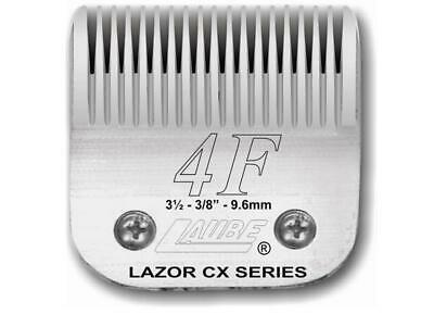 Laube CX Steel Dog Grooming Clipper Blade #4F  Fits Standard Andis, Oster, Wahl • 47.99$