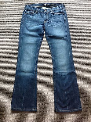 AU69.95 • Buy Pre-Owned 7 For All Mankind Bootcut Ladies Jeans Size 28