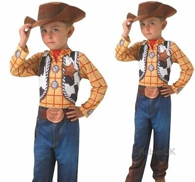 £21.99 • Buy Classic Woody Boys Costume Toy Story Fancy Dress Child Book Day Outfit