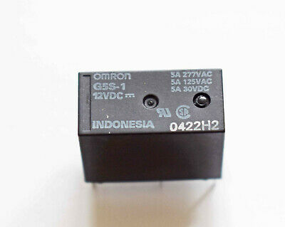 £4.95 • Buy Two Pieces Relay G5s-1 Omron 12v Coil - Single Pole Change Over