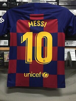 online store 3cd96 ec7ce messi jersey small