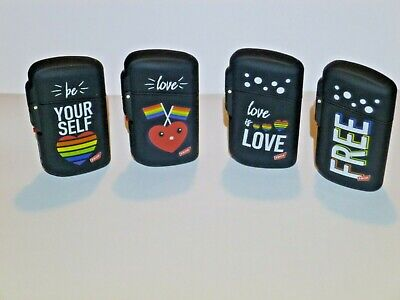 £3 • Buy Lighter Windproof Gas Turbo Jet Refillable Love Design 4 To Choose From