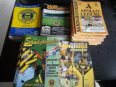 £2.49 • Buy Southport FC Home Programmes 1982 - 2004