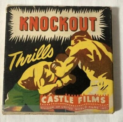 $ CDN24.99 • Buy Knockout Thrills 8mm Castle Films.  1940's Boxing