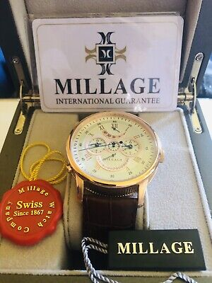 $3000 • Buy Millage Retrograde Elite - Rose Gold Case,!!!REDUCED,MUST SELL !!!