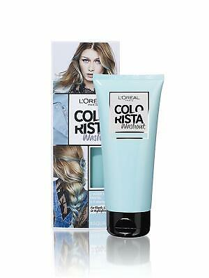 L'oreal Colorista Semi-Permanent Color, For Bleach/Light/Highlighted Hair, Aqua • 7.07£