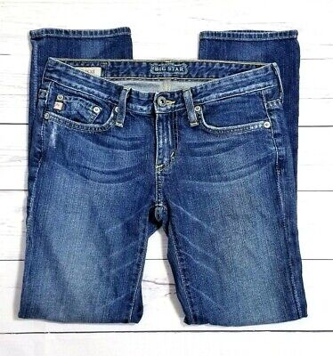 $ CDN34.98 • Buy Big Star Womens Rikki Crop Jeans Size 24 (27x27) Stretch Low-Rise Ankle Cropped