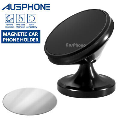 AU11.95 • Buy New 360 Degree Rotating Cell Phone Holder Car Magnetic Mount Stand Universal