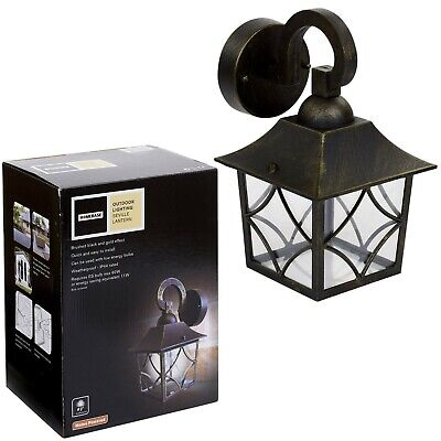 Outdoor Wall Lantern Outside Coach Light Vintage Traditional Antique Style • 11.35£