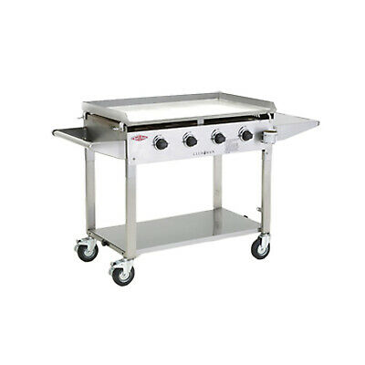 AU1899 • Buy New BeefEater Clubman Stainless Steel 4 Burner Barbeque, 5mm BBQ Plate, Quartz I