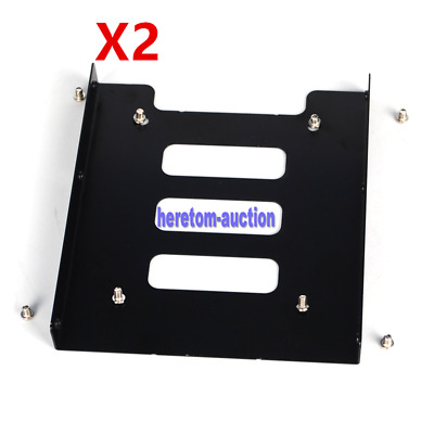 AU7.83 • Buy 2.5 Inch To 3.5 Inch SSD HDD Adapter Rack Hard Drive SSD Mounting Bracket NC