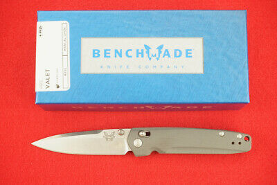 $159.95 • Buy Benchmade 485 Valet Axis Lock Gent Knife, M390 Knife, G-10 Handle