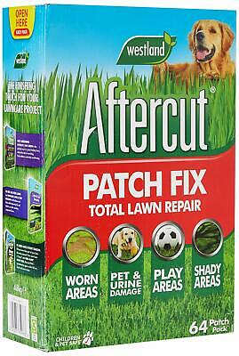 £17.54 • Buy Aftercut Lawn Patch Repair Grass Seed 64 Patches 4.8 Kg Garden