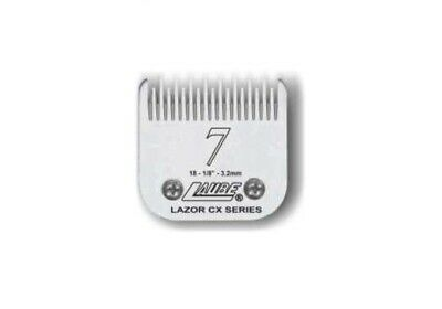 Laube CX Steel Dog Grooming Clipper Blade #7 Fits Standard Andis,Oster,Wahl • 38.29$