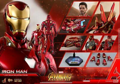 $ CDN801.77 • Buy Hot Toys Avengers Infinity War 1/6 Iron Man Mark 50 L Action Figure Endgame