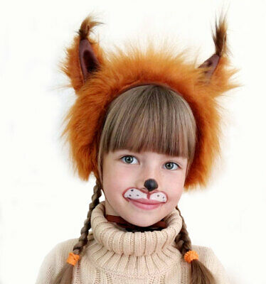 £11.20 • Buy Squirrel Animal Fancy Dress Hat Children Over 9 Years & Adult Carnival Costume