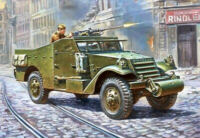 $26.94 • Buy Zvezda Models 1/35 Armoured Personnel Carrier M3 Scout Car