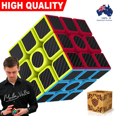 AU10.52 • Buy 3x3x3 Magic Rubik Cube 3D Puzzle Easy Turning Smooth Play Turns Quicker Kids Toy