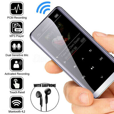2020 Music Player 16GB MP3/MP4 Bluetooth Lossless Sound Portable FM Radio Voice • 20.99£