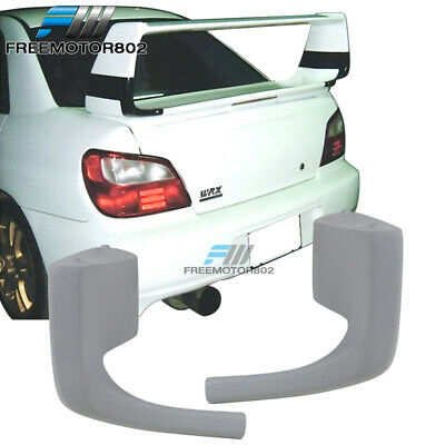 $130.14 • Buy Fits 2004-2005 Subaru Impreza Rear Trunk Spoiler STi Wing Raiser - FRP