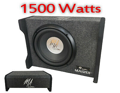 $125.60 • Buy MA AUDIO 12  1500W Car Loaded Boom Bass Subwoofer Extreme Box High Quality Sound