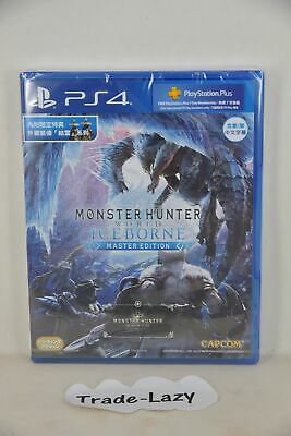 AU94.99 • Buy NEW PS4 Monster Hunter World: Iceborne MHW Master Edition (HK, Chinese 中文) + DLC