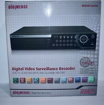 $159.99 • Buy Digimerge DH230 Series Security System DVR - NEW -SEALED BOX