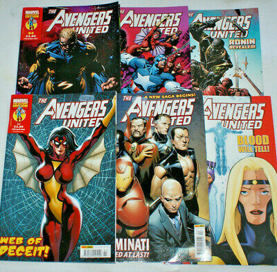 Marvel Comics THE AVENGERS UNITED - Pick One Or More • 2.50£