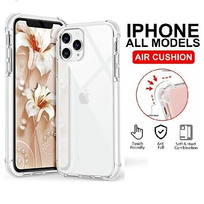 AU5.59 • Buy Clear Case For IPhone 6,7,8 Plus,11 Pro,XS Max,XR Shockproof Silicone Protective