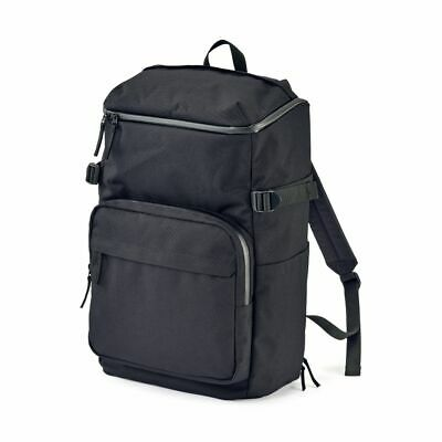 $139.99 • Buy New MUJI Water Repellent Wide-opened Backpack Black 22L With Laptop Pocket Japan
