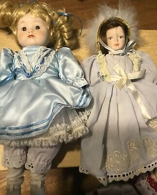 $ CDN16.24 • Buy Porcelain Dolls- Lot Of 2 From The 1980s