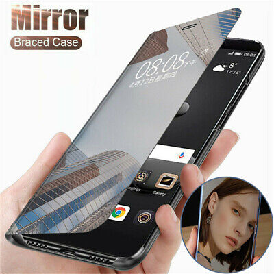 AU6.72 • Buy Smart Leather Case Flip Clear View Mirror Cover For OnePlus 8 7T 7 Pro 6T 6 5T
