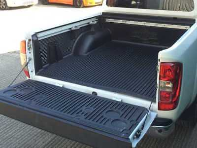 Under Rail Load Liner / Bed Liner WITH C-Channels For Nissan Navara NP300 • 174£