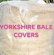 £14.99 • Buy Hay Straw Round Bale Cover Plastic Waterproof 5ft 600g  Polythene Fast P&p Net