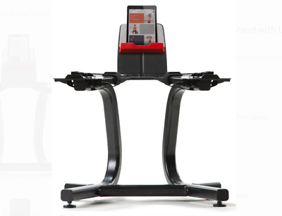 $ CDN600.28 • Buy Bowflex SelectTech Dumbbell Stand W/Media Rack For SelectTech 552 &1090 Dumbbell