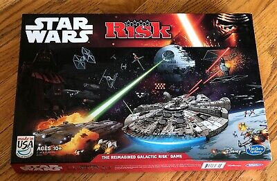 $22.65 • Buy Star Wars Edition Risk  The Reimagined Galactic Risk  Board Game 100% Complete!