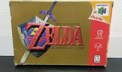 $70 • Buy The Legend Of Zelda Ocarina Of Time NINTENDO 64 (N64)  - CIB FAST SHIPPING