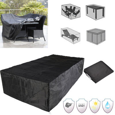 AU18.99 • Buy 6 Size Waterproof Garden Furniture Cover Outdoor Patio Chair Table AU