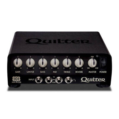 $ CDN519.99 • Buy Quilter 101-REVERB Tone Stack EQ Reverb Limiter 50W Guitar Amplifier Head USED