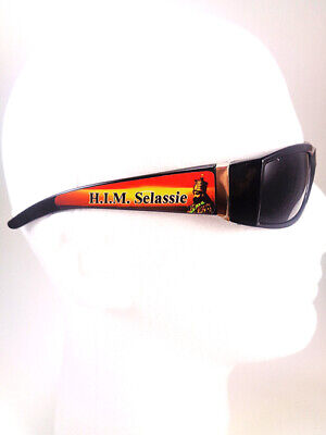 £28.94 • Buy New! Rare Rasta Sunglasses W/haile Selassie One Size Fits Most Adults Nicely!