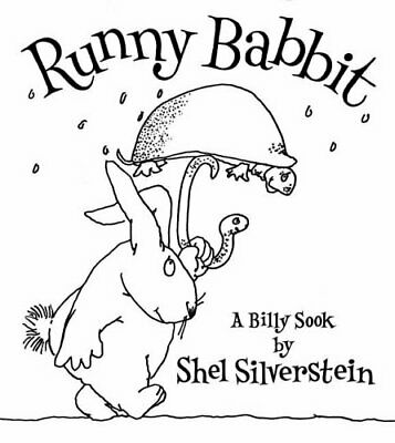 Runny Babbit By Silverstein, Shel Hardback Book The Cheap Fast Free Post • 5.99£