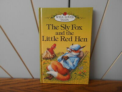 SLY FOX AND THE LITTLE RED HEN Vintage Ladybird Book WELL LOVED TALES 606d, 75p • 3.99£