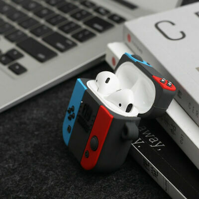 $ CDN6.69 • Buy For Airpods 1 &2 Charging Case 3D Switch Gamepad Earphone Protective Bag Cover