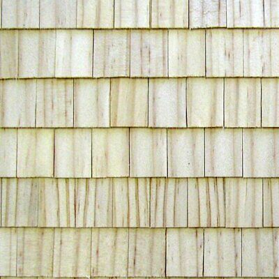 Dollhouse Roofing RGT Rectangular Wooden Pine Shingles 190 Pcs 1  Scale #RGT6808 • 7.50$