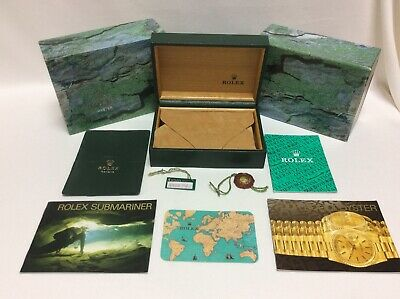 $ CDN459.86 • Buy Rolex Submariner 16610 Watch Box Set 68.00.02 + Booklets Tags Calendar FREE POST