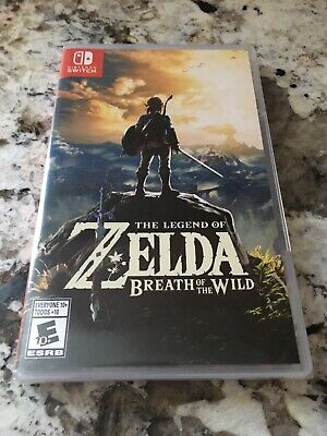 $54.95 • Buy The Legend Of Zelda Breath Of The Wild Nintendo Switch Brand New Sealed USA Edt.