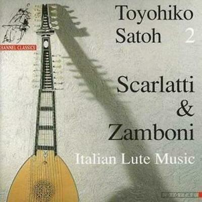 Giovanni Zamboni : 18th Century Lute Music (Satoh) CD (1998) ***NEW*** • 12.13£
