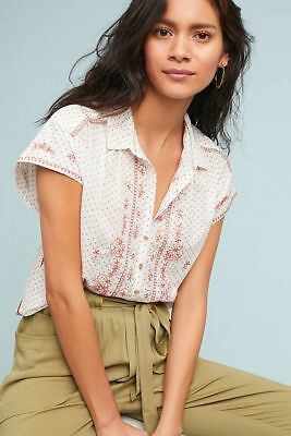 $ CDN63.16 • Buy  Anthropologie Riley Embroidered Tunic Top Blouse XL New