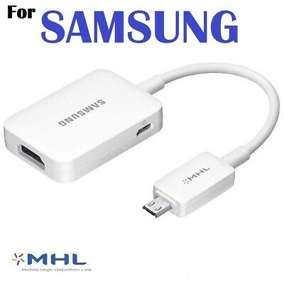 AU36.99 • Buy MHL HDTV HDMI Adapter AV For Samsung Galaxy Note 3 2 Trend S4 S3 S5 HTC One SONY