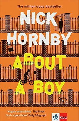 About A Boy. By Hornby, Nick Book The Cheap Fast Free Post • 6.99£